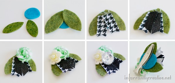 how to make hair accessories