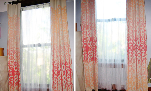 Ikat-stenciled-drapes