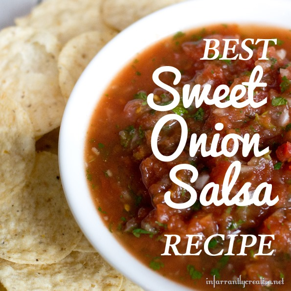 best ever sweet onion salsa recipe