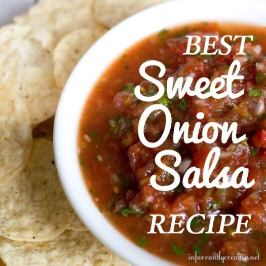 Best Sweet Onion Salsa Recipe