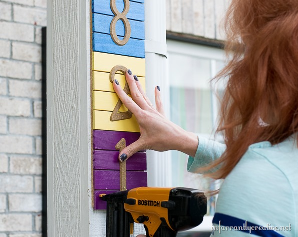 address sign tutorial