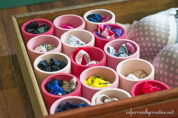 organizing your underwear drawer