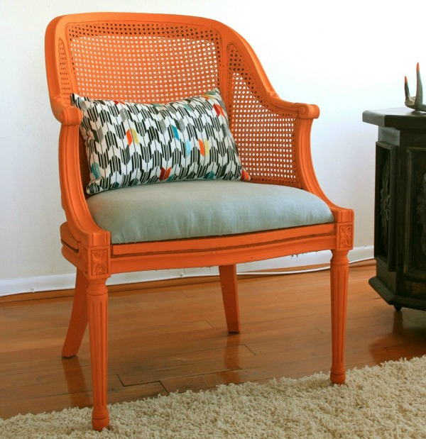 orange-reupholstered-chair