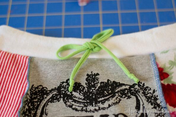 tee shirt skirt project