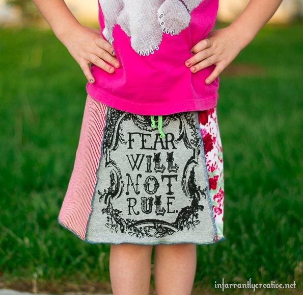 tshirt-skirt