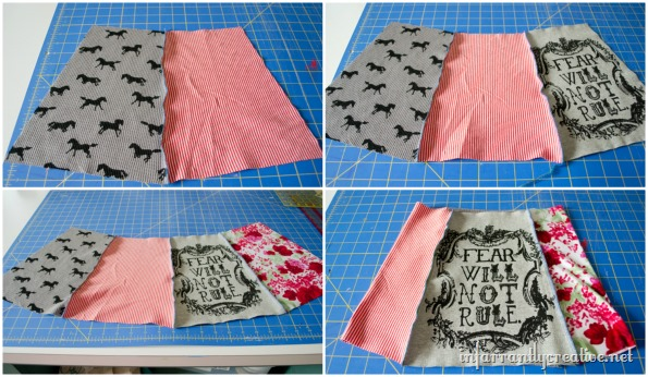 upcycled skirt tutorial