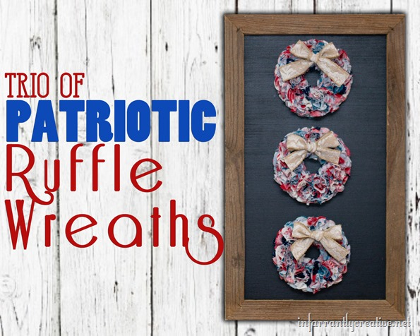 4th of july craft wreaths