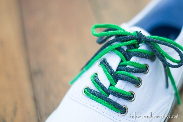 how to make tshirt shoelaces