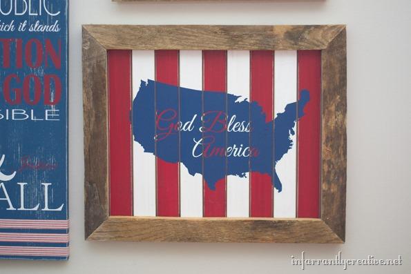 patriotic wall decor