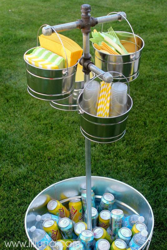 galvanized-bucket-drink-station