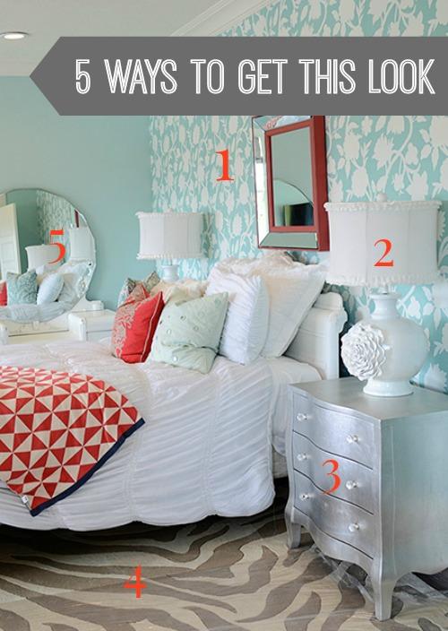 aqua-coral-bedroom-numbered