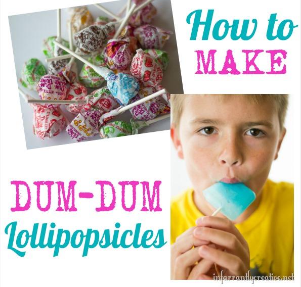 how to make dum dum popsicles