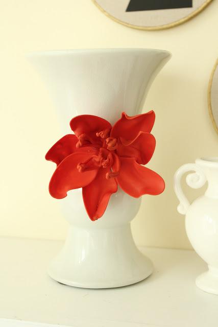 large flower vase diy