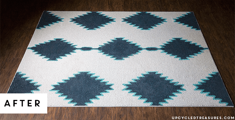 DIY-floor-rug-blue