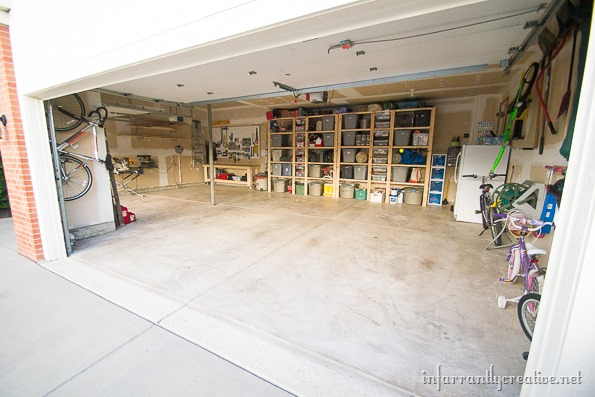 garage you cheap storage can do organization shelves super easy diy ideas
