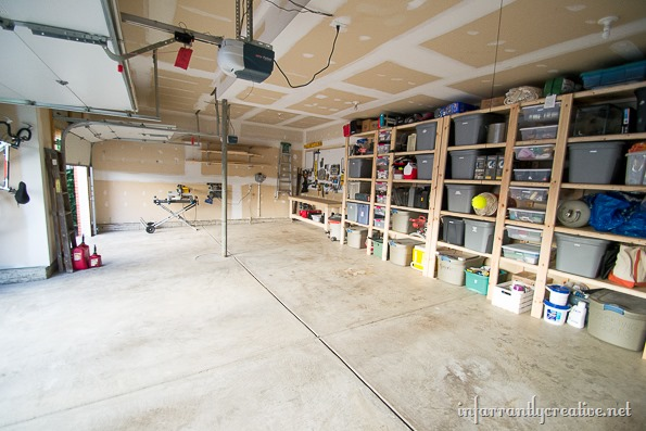 cheap garage organization. Garage Organization Reveal   Infarrantly Creative