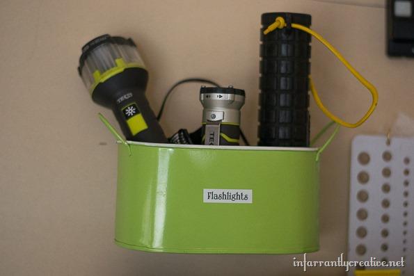 flashlight organization