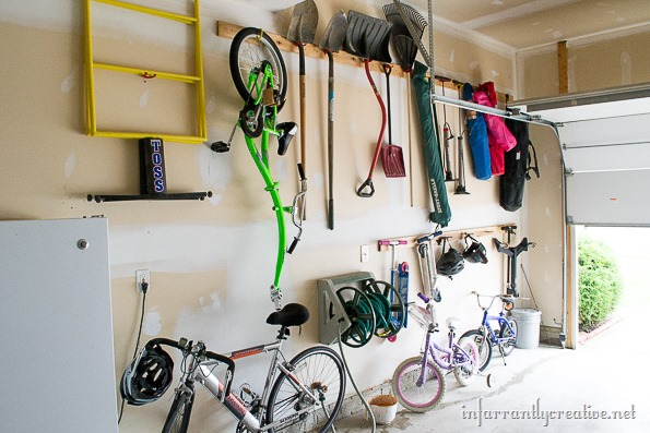 garage organization cheap tutorial
