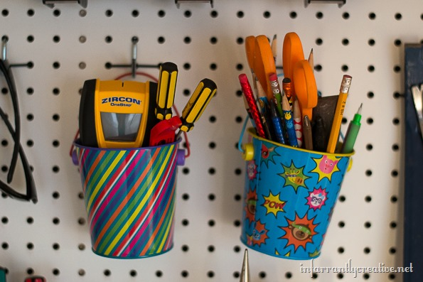 pegboard supplies