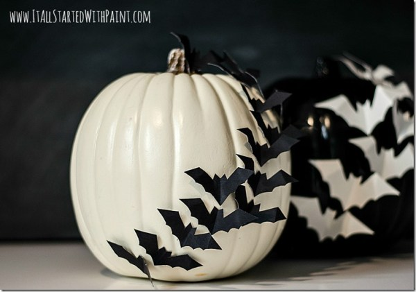 Bats-On-Pumpkin-No-Carve