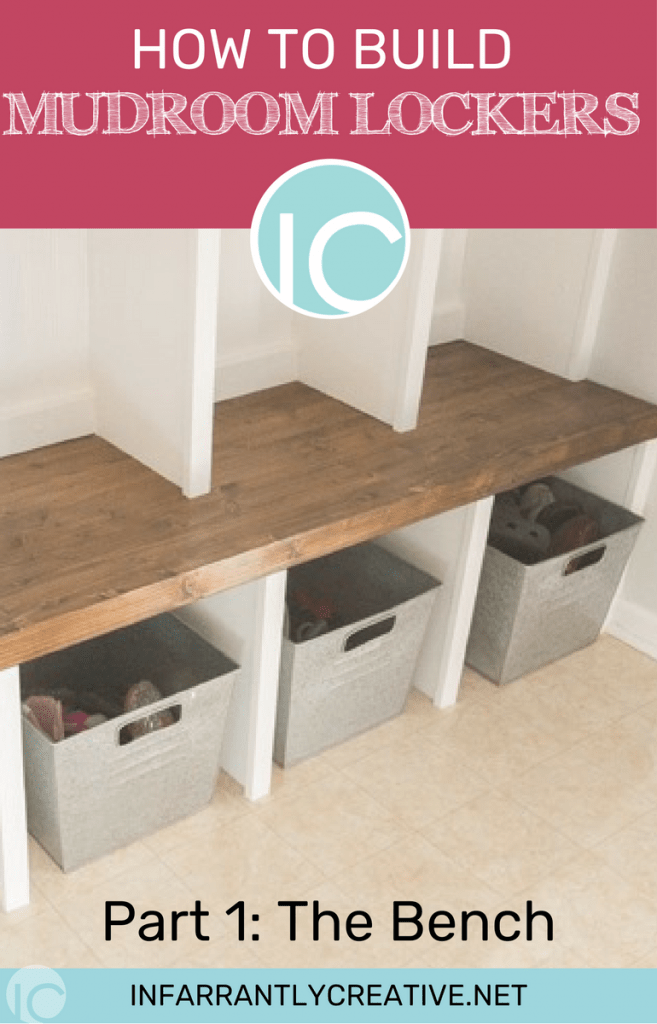 DIY Build Your Own DIY Mudroom Storage Lockers