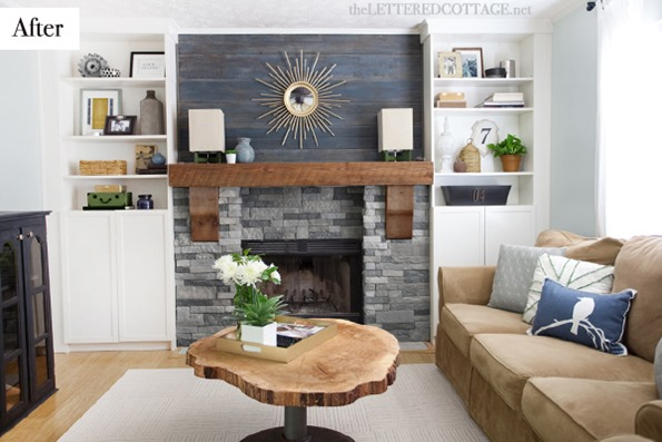 Rustic Modern Contemporary Living Room