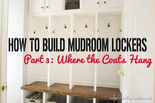 Mudroom Lockers Part 3