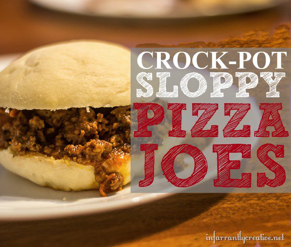 Crockpot Sloppy Pizza Joes