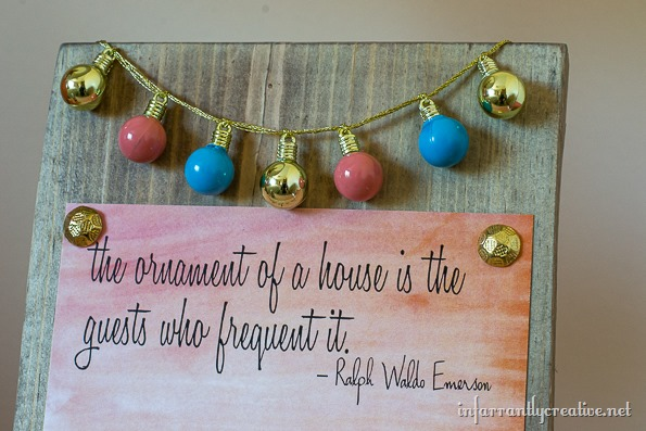 ornament of a house quote