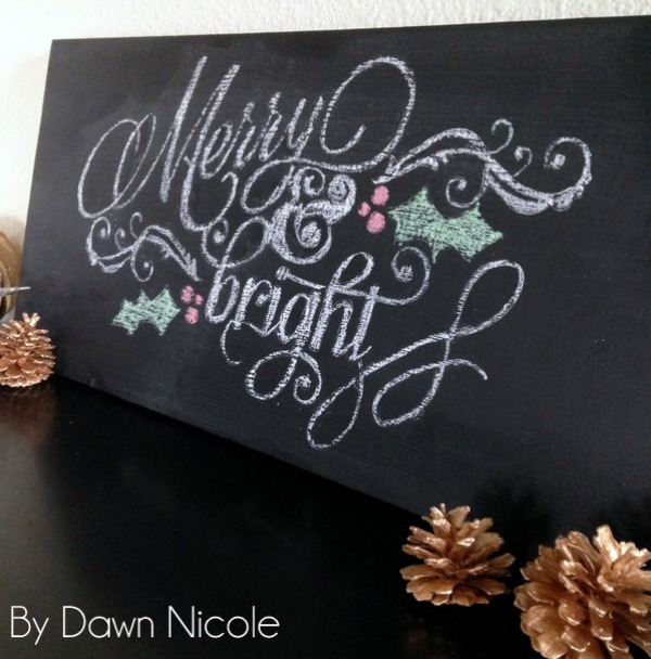 DIY-chalkboard-christmas-sign