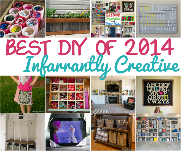 Best DIY Projects of 2014: Infarrantly Creative
