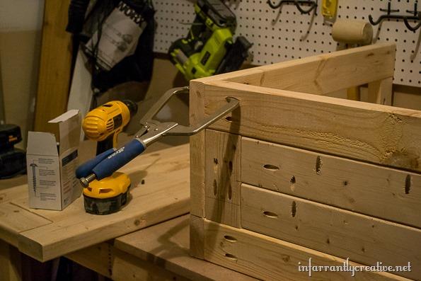 building an entrway cart