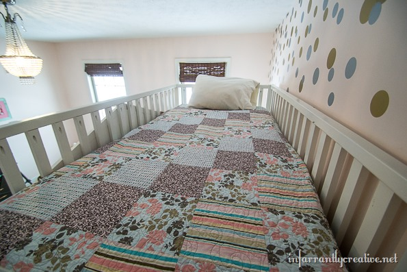 cottage loft bed top