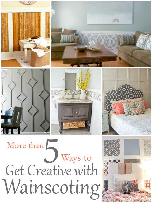 5-Ways-Creative-Wainscoting
