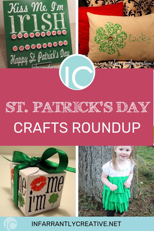 St. Patricks Day DIY Crafts, Kiss Me I'm Irish, Countdown to St. Patrick's Day