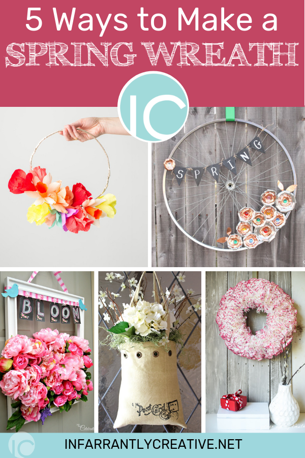 5 Ways to Make a Spring Wreath