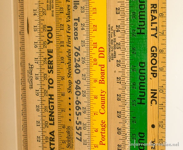photograph regarding Printable Yardstick titled Incorporating a Minor Quirk in direction of Your Household Yardstick Backpack Wall