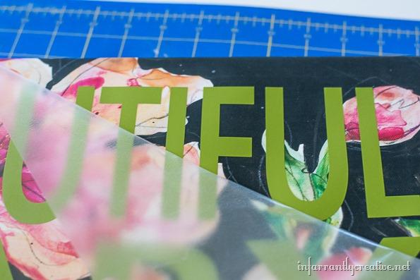 custom vinyl stencil art