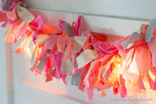 farbic strip garland