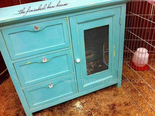 repurposed-dresser-hen-house