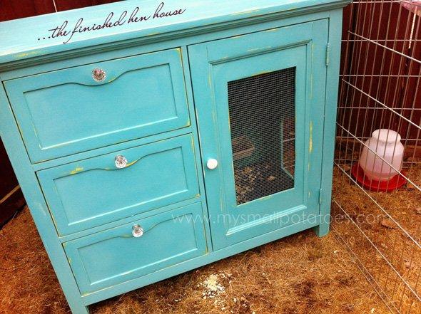 repurposed-dresser-hen-house