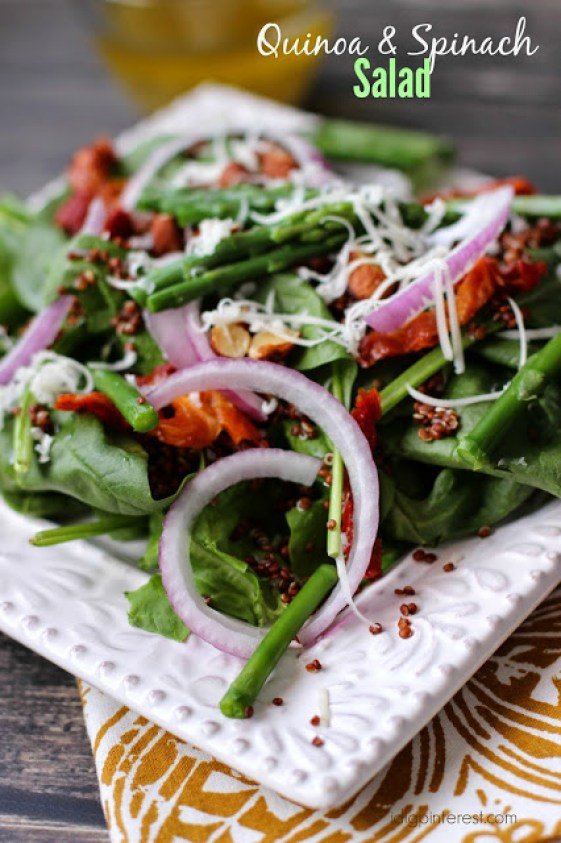 Quinoa-Spinach-Salad