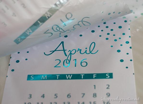foiled-calendar