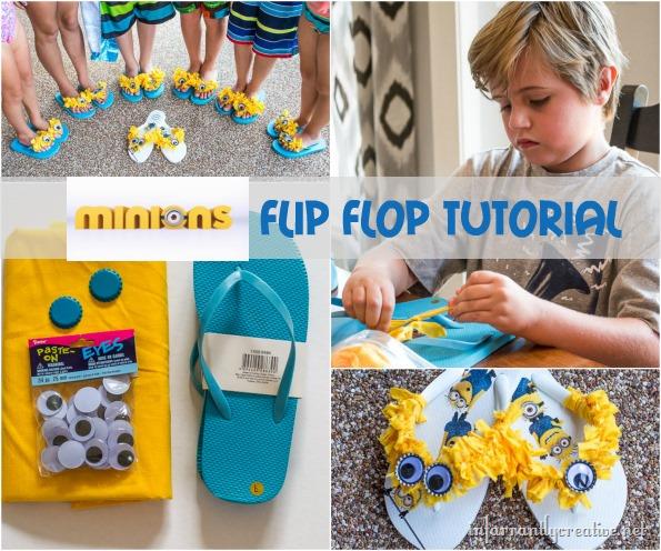 minions flip flop tutorial