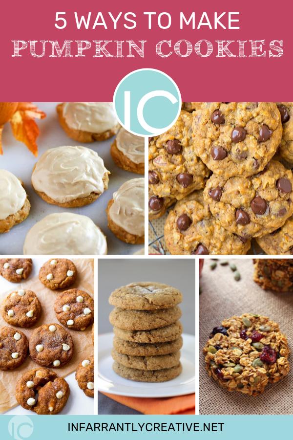 5 Ways to Make Pumpkin Cookies