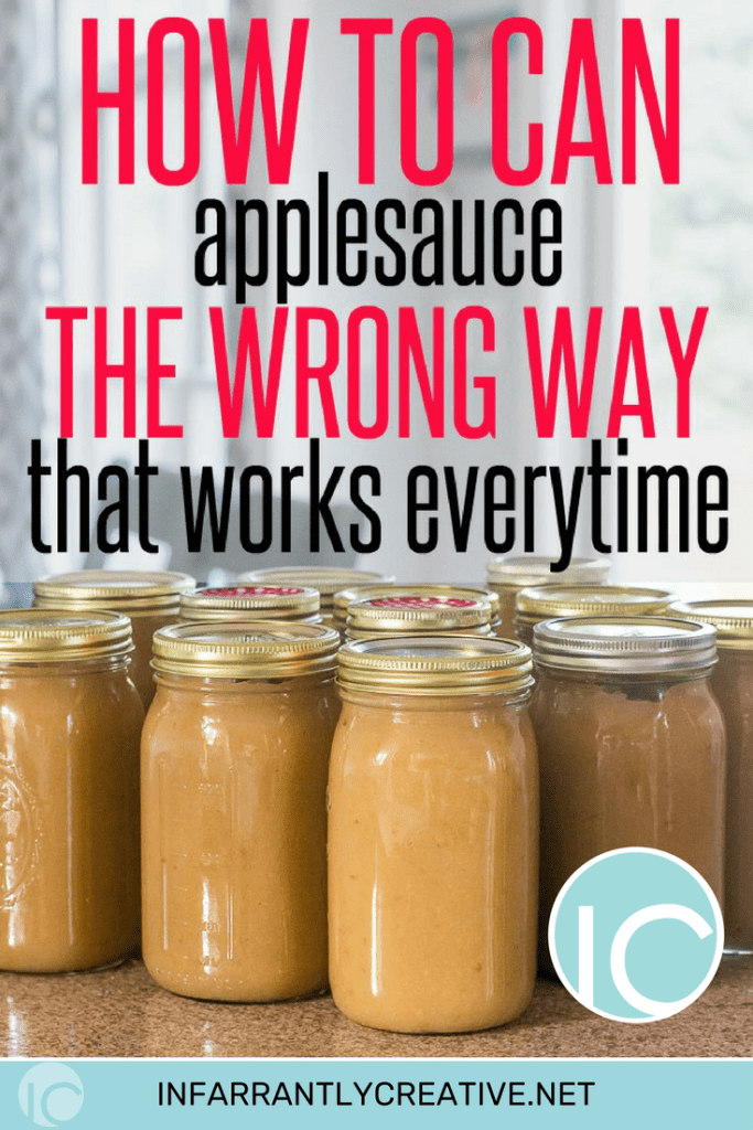 How to make applesauce the wrong way that works every time