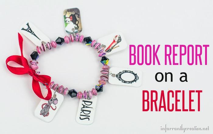 DIY CRAFTS  Creative book report idea - book report bracelet