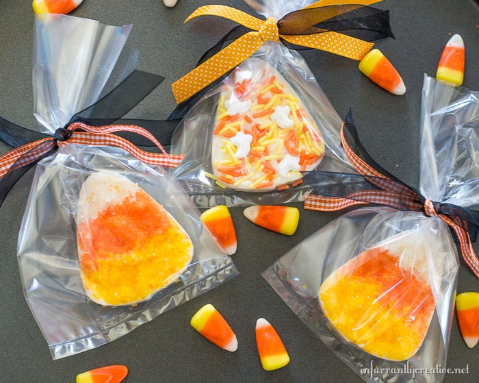 candy corn candy melts favor