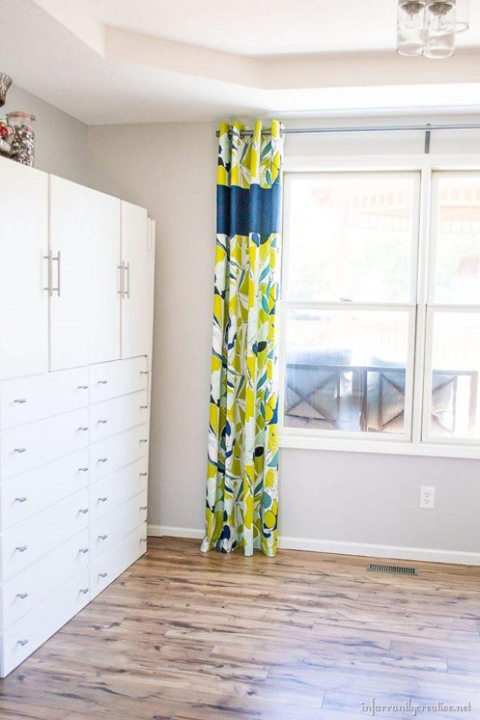 curtain-lengthening