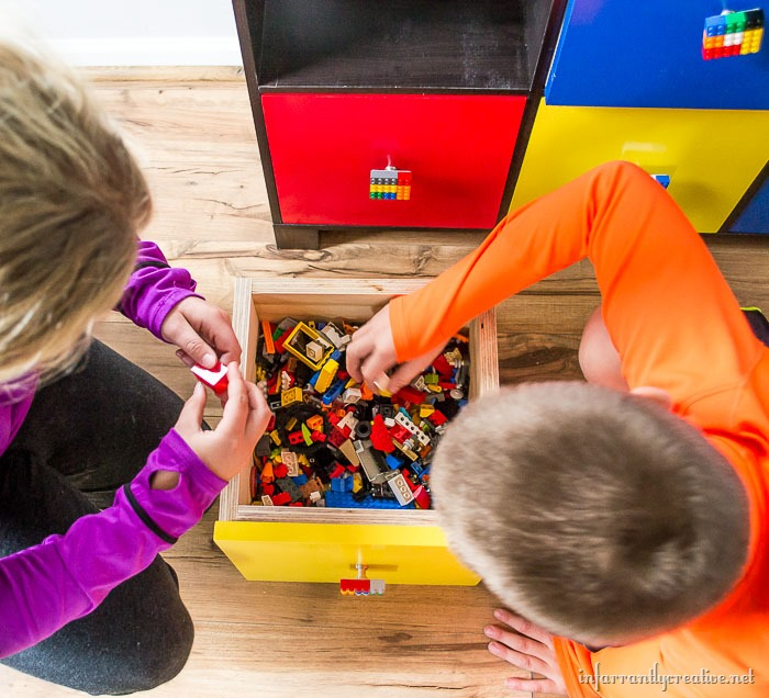 lego table DIY